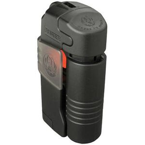 Ruger Ultra Pepper Spray System .388 oz Strobe Light 125 Decibel Alarm Black RHB001
