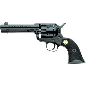 "Chiappa 1873 Revolver 17 HMR 4.75"" Barrel 6 Rounds Plastic Grips Black"