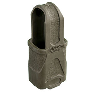 Magpul Original Magpul 9mm Luger/.45 ACP Subgun Magazine Pull Flexible Rubber OD Green 3 Pack