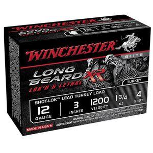 "Winchester Long Beard XR 12 Ga 3"" #4 Lead 1.75oz 10 rds"
