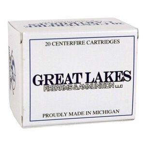 Great Lakes .454 Casull 300 Grain Poly RNFP 20 Round Box