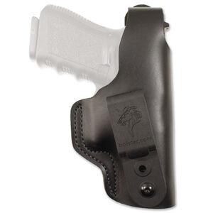 DeSantis Dual Carry II Fits GLOCK 42/43/43X Belt Holster IWB/OWB Left Hand Leather Black
