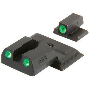 Meprolight Tru-Dot S&W M&P Shield Green/Green Night Sight Set ML11770