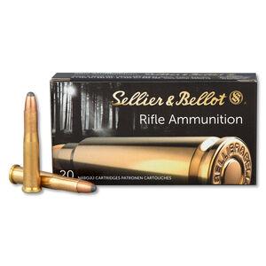 Sellier & Bellot .22 Hornet Ammunition 20 Rounds, Soft Point SP, 45 Grains