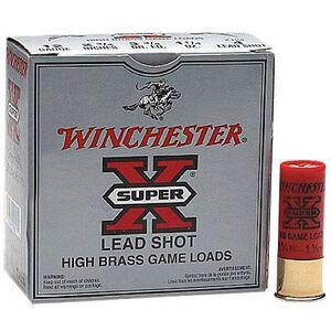 """Winchester Super-X 12 Ga 2.75"""" #4 Lead 1.25oz 25 Rounds"""