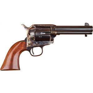 "Cimarron Model P Single Action Revolver .45 Long Colt 4.75"" Barrel 6 Rounds Walnut Grips Case Hardened Finish MP512"