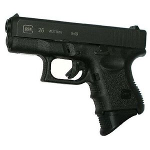 Pearce Large Grip Extension for GLOCK 26, 27, 33, and 39 Black PG-26XL