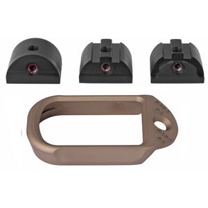 Battle Arms Development Anodized Aluminum Magwell for Glock 19/23/32 Gen 1-4 FDE