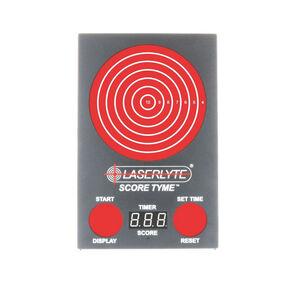 "LaserLyte Trainer Score Tyme Trainer Target 3 Digit LED Display 13"" Polymer Housing Matte Black TLB-XL"