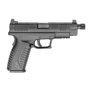 "Springfield Armory XD-M .45 ACP Semi Auto Pistol 4.5"" Threaded Barrel 13 Round Black"
