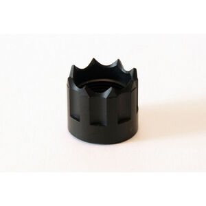 "LongShot Viper Thread Protector 1/2""-28 for Hi-Point 3895TS & 995TS w/ Threaded Muzzle Anodized Black"