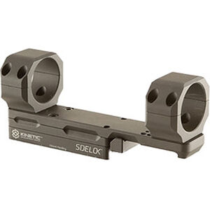 KDG Sidelok Modular Optic Mount 34mm Rings AR Style Adjustable Cantilever Scope Mount Aluminum Black