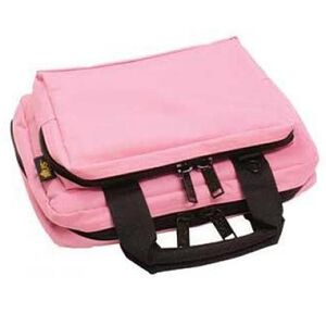 "US Peacekeeper Padded Mini Range Bag 12.75""x8.75""x3"" Nylon Pink 11039"