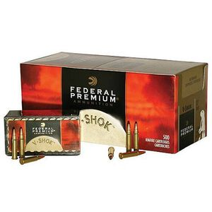 Federal V-Shok .17 HMR Ammunition 50 Rounds Speer TNT HP 17 Grains P770