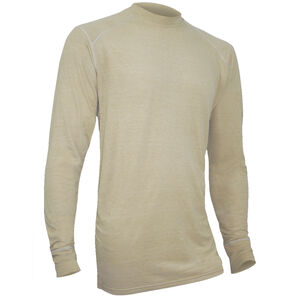 XGO FR Phase 1 Men's Long Sleeve Shirt Modacrylic/FR Rayon Blend Medium Desert Sand