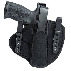 Uncle Mike's S&W J Frame Tuckable Inside Waistband Holster Size 0 Ambidextrous Nylon Black 55000