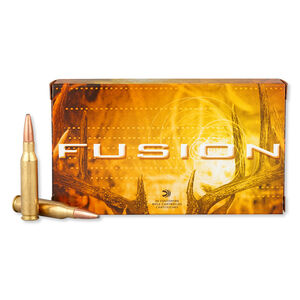 Federal Fusion 7mm-08 Remington Ammunition 20 Rounds SP 3,000 Feet Per Second