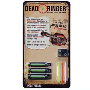 Deadringer Hunting Dead Ringer Accu-Bead Extreme Shotgun Sight for Ribbed Shotguns DR4393