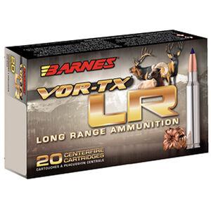 Barnes VOR-TX Long Range .30-06 Springfield Ammunition 20 Rounds 175 Grain LRX Boat Tail Lead Free 2800