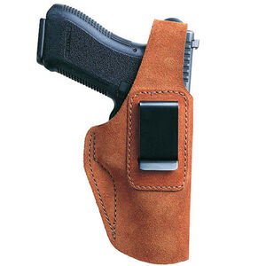 Bianchi 6D ATB Inside the Waistband Holster Beretta 92, 96, 8040 Cougar, Colt Double Eagle, S&W 1006, 4506, 4546, Taurus PT92, PT99, TZ75 Right Hand Suede Tan