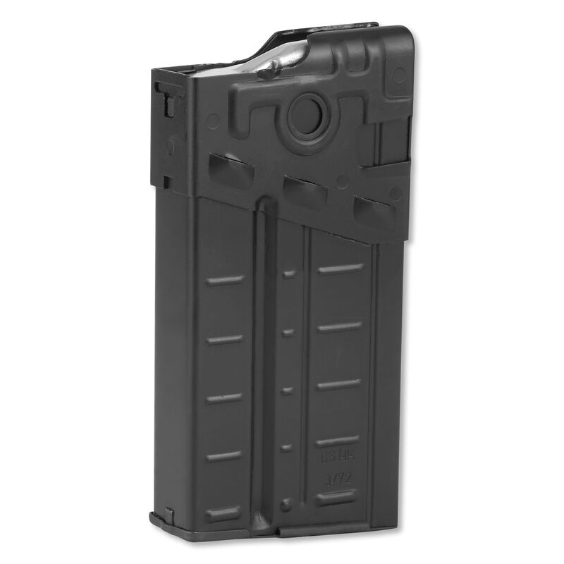 HK G3/HK-91 Original Military Magazine 7.62/.308 20 Rounds Aluminum Black