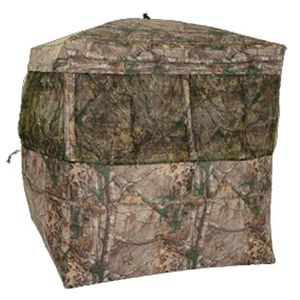 "Browning Mirage Hunting Ground Blind 59""x59""x66"" 600D Polyester Realtree Xtra"
