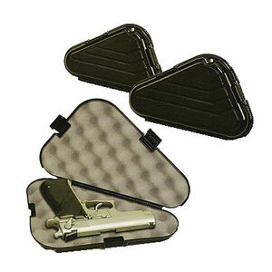 "Plano Large Frame Single Pistol Case 12"" Black 6 pack 142300"