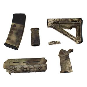 Matrix Diversified Industry AR-15 Magpul Furniture Kit Commercial Polymer Highlander MAGCOM47HL