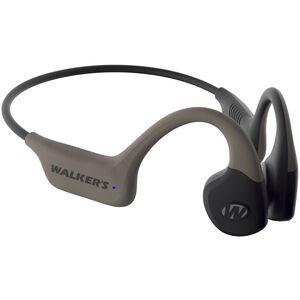 Walkers Raptor Bone Conducting Hearing Enhancer & Protection Rechargeable Tan