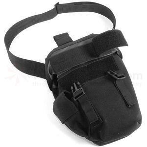 BLACKHAWK! Omega Elite Gas Mask Pouch Nylon Black 56GM00BK