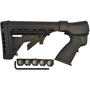 Phoenix Technologies KickLite Recoil Reduction Series Stock Mossberg 500/590/835 12 Gauge 6 Position Collapsible AR-15/M4 Style Stock Recoil Suppression Polymer Matte Black