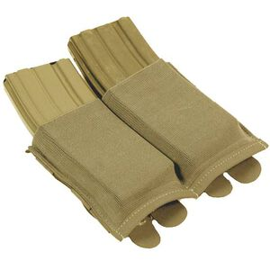 Blue Force Gear Ten Speed Double M4 Magazine Pouch ULTRAcomp Laminate Coyote Brown HW-TSP-M4-2-CB