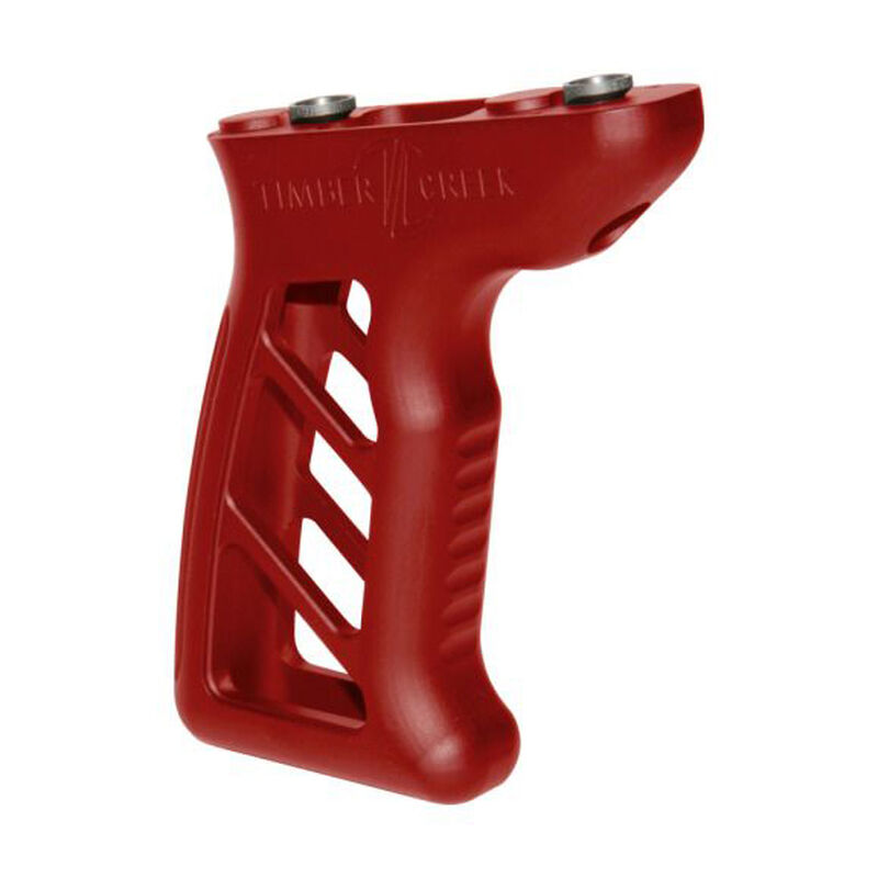 Timber Creek Outdoors M-LOK Enforcer Vertical Foregrip Red Anodized M E VFG R