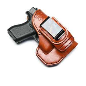 Talon Training Glock 42 Tuckable Holster Brown Right Hand No Laser