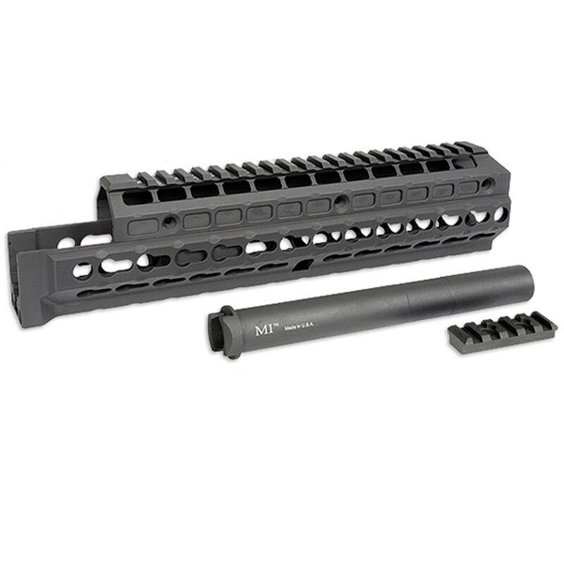 Midwest Industries Gen 2 AK-47/AK-74 Extended Hand Guard KeyMod Compatible T1 Top Cover 6061 Aluminum Matte Black