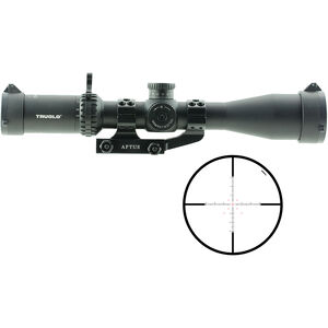 TRUGLO Eminus 3-9x42 Tactical Scope Illuminated TacPlex Reticle 30mm Tube 1/4 MOA Adjustment Fixed Focus Black Anodized