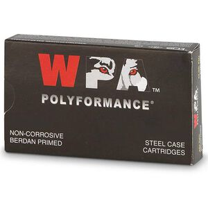 Wolf Polyformance 5.45x39 Ammunition 750 Rounds JHP 55 Grains 545BHP