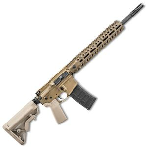 "FNH FN-15 Tactical Carbine AR-15 Semi Auto Rifle 5.56 NATO 16"" Barrel 30 Rounds P-LOK Free Float M-LOK Hand Guard B5 Grip/Buttstock Flat Dark Earth Finish"