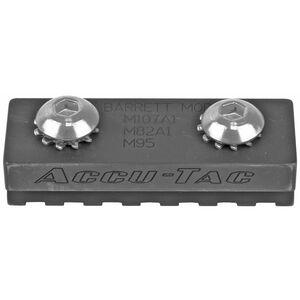 Accu-Tac Barrett Spec Rail for Barrett M107A1, M82A1, M95 Anodized Finish Black