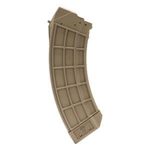 Century Arms US Palm Range AK30R 7.62x39 Soviet AK-47 30 Round Magazine Flat Dark Earth