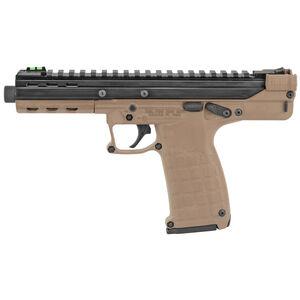 "Kel-Tec CP33 .22 Long Rifle Semi Automatic Pistol 5.5"" Barrel 33 Rounds Ambidextrous Design Polymer Frame Tan/Black"