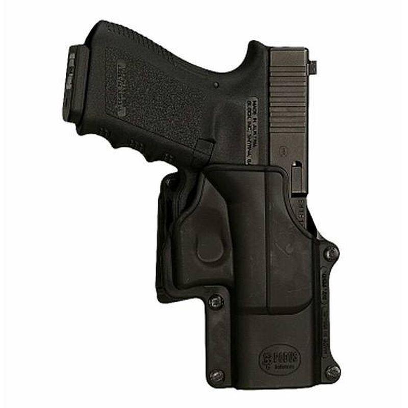 Fobus Belt Holster Ruger P85/P89/P91 Right Hand Polymer Black RU1BH