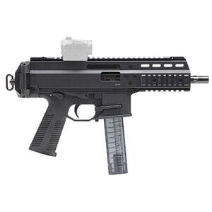 "B&T APC9 Semi Auto Pistol 9mm Luger 7"" Barrel 30 Rounds Full Length Optic Rail Ambidextrous Controls Recessed Backup Sights Aluminum Housing Matte Black"