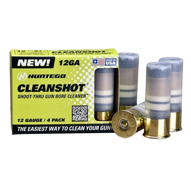 Huntego Cleanshot 12 Gauge Gun Bore Cleaner 4 Pack