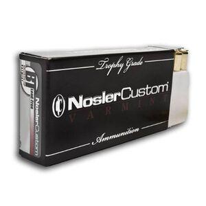 Nosler Custom .22-250 Rem 55 Grain SPTZ BP 20 Round Box