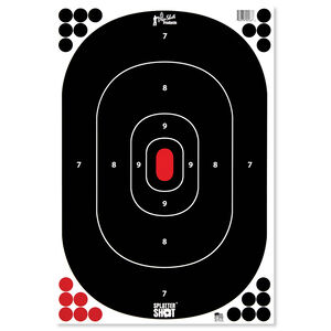 """Pro-Shot 12"""" x 18"""" Silhouette Peel and Stick 12 Pack"""