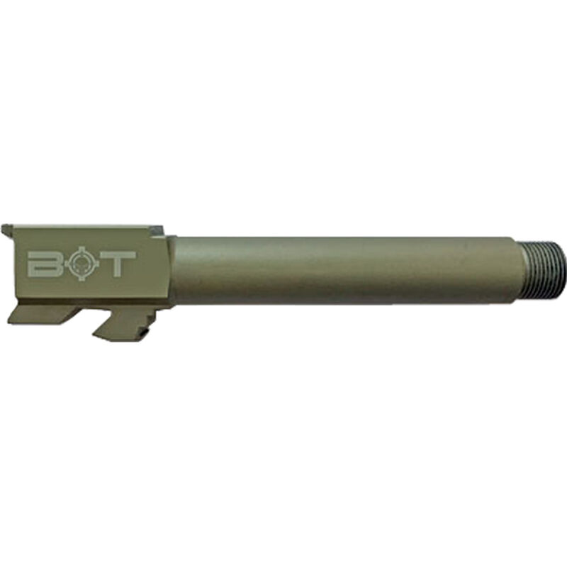 "Backup Tactical Threaded GLOCK 19 Drop In Replacement Barrel 9mm Luger 1/2x28"" 416 Stainless Steel OD Green"