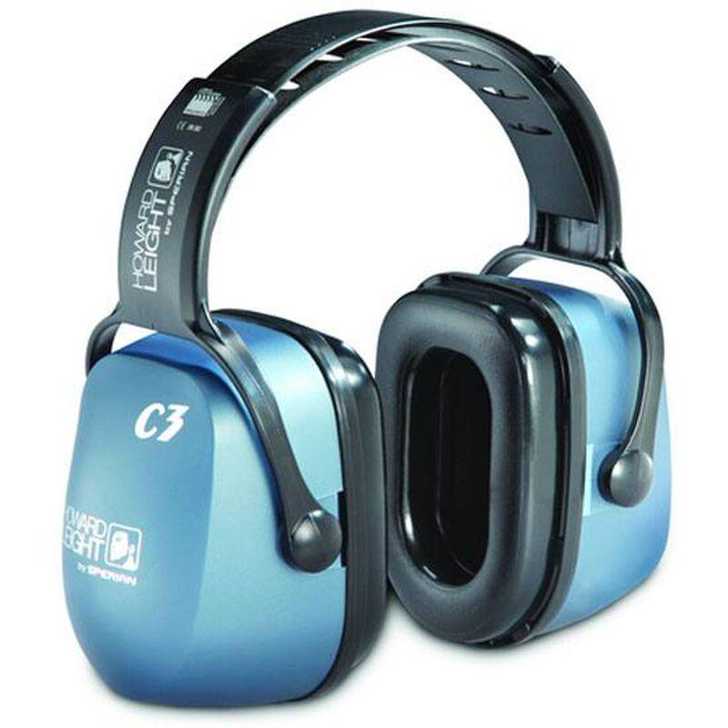 Howard Leight Clarity C3 Ear Muffs NRR 27 Metallic Blue 1011146