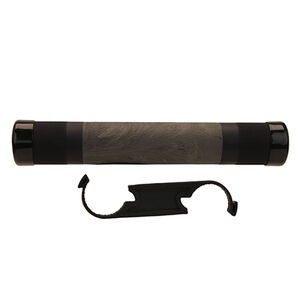 """Hogue AR-15/M16 12.5"""" Free Float Hand Guard With OverMolded Rubber Gripping Area 6061 Aircraft Aluminum Ghillie Green Finish"""