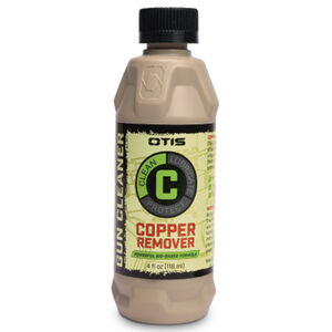 Otis O12 Copper Remover Gun Cleaning Solution Four Ounce Liquid Squeeze Bottle IP-904-COP